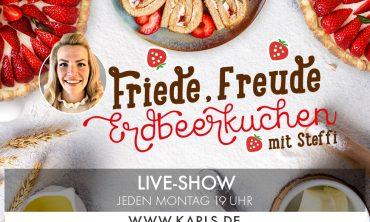 Karls Live: Friede, Freude, Erdbeerkuchen