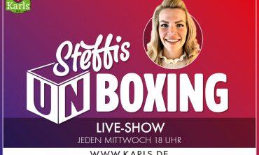 Karls Live: Steffis Unboxing