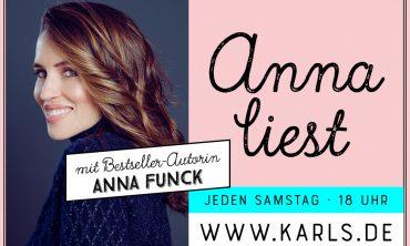 Karls Live: Anna liest