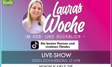 Karls Live: Lauras Woche