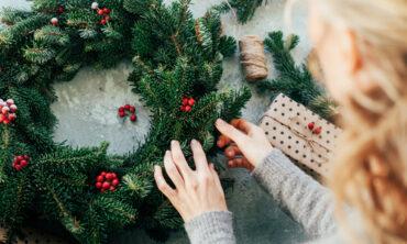 Weltbild live – Deko für die Adventszeit